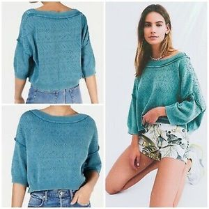Free people cropped sweater